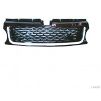 Mascherina griglia anteriore range rover sport 2010 al 2012 nera silver Lucana Paraurti ed Accessori