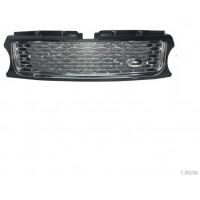 Mascherina griglia anteriore range rover sport 2010 al 2012 nera/cromata Lucana Paraurti ed Accessori