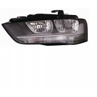 Headlight right front AUDI A4 2012 onwards black halogen Lucana Headlights and Lights