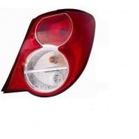 Tail light rear right Chevrolet Aveo 2011 to 4 ports Lucana Headlights and Lights