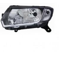 Headlight right front Dacia Sandero - SANDERO STEPWAY LOGAN MCV 2013- Lucana Headlights and Lights