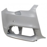 Corner front bumper right AUDI A1 2010 onwards headlight washer holes and sensors Lucana Bumper and accessories