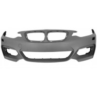 Front bumper BMW Series 2 F22/F23 2013 onwards with headlight washer holes Lucana Bumper and accessories