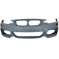 Front bumper BMW Series 2 F22/F23 2013 onwards with headlight washer holes+sens Lucana Bumper and accessories