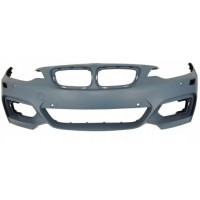 Front bumper BMW Series 2 F22/F23 2013 onwards with headlight washer holes+ 6 sens Lucana Bumper and accessories