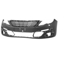Front bumper for Peugeot 308 2013 to 2017 with fog lights and headlight washers Lucana Bumper and accessories