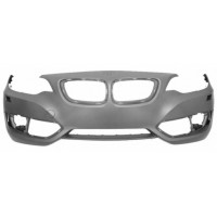 Front bumper BMW Series 2 F22 F23 2013 onwards with headlight washer holes Lucana Bumper and accessories