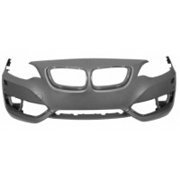 Front bumper BMW Series 2 F22 F23 2013- m sport with headlight washer holes and sensors Lucana Bumper and accessories