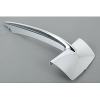 Chrome Molding trim front bumper right lat. BMW X5 f15 2014- luxury Lucana Bumper and accessories