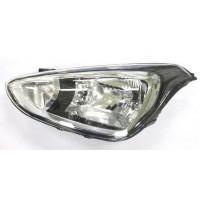 Headlight right front headlight for Hyundai i10 2013 onwards 2 black parables Lucana Headlights and Lights