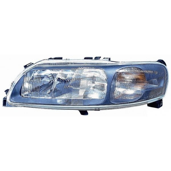 Headlight right front headlight for Volvo V70 s70 2000 to 2004 Aftermarket Lighting