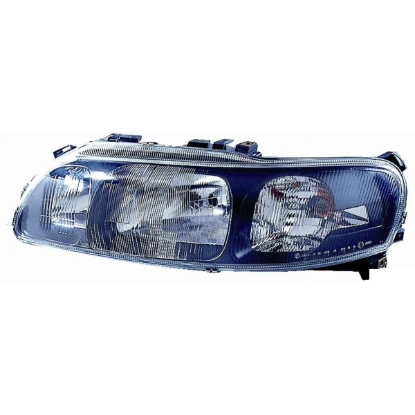 Headlight right front Volvo S60 2000 to 2004 Aftermarket Lighting