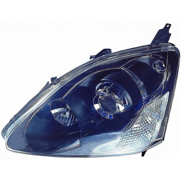 Faro proiettore anteriore destro honda civic 2003 al 2006 type r c/lent Lucana Phares et Feux