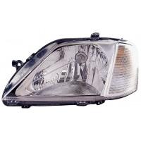 Headlight right front headlight for Dacia Logan 2004 to 2008 Lucana Headlights and Lights