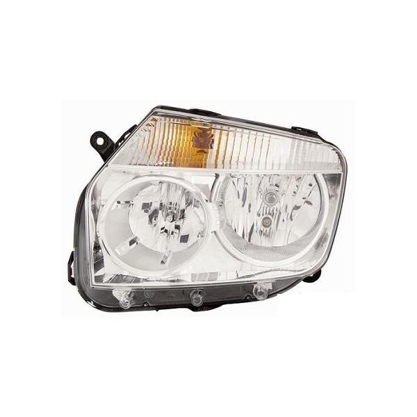 Faro luz proyector delantero derecha dacia duster 2010 en más cromato Lucana Faros y luz