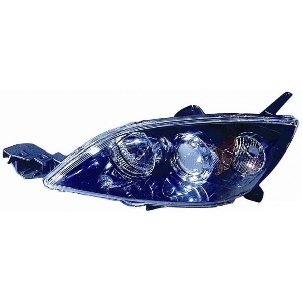 Faro proiettore anteriore destro mazda 3 2003 al 2009 Lucana Faros y luz