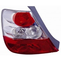 Tail light rear right Honda Civic 2003 to 2005 3p Lucana Headlights and Lights