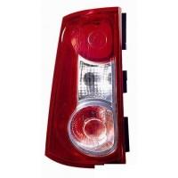 Lamp RH rear light for Dacia Logan MCV 2007 onwards 2 ports Lucana Headlights and Lights