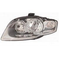 Headlight right front AUDI A4 2005 to 2007 Fr.White Lucana Headlights and Lights