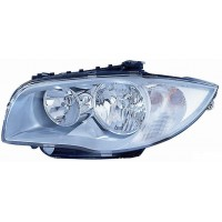 Headlight right front bmw 1 series E87 2004 to 2006 Alog. Lucana Headlights and Lights