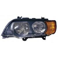 Headlight right front headlight BMW X5 E53 1999 to 2004 FR/Orange Lucana Headlights and Lights