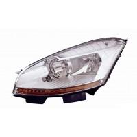 Headlight Headlamp Right Front Citroen C4 Picasso 2006 onwards Lucana Headlights and Lights