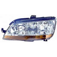 Headlight right front headlight for Fiat Idea 2003 to 2005 Fiat Multipla 2004 onwards with fog lights orange Lucana Headlight...