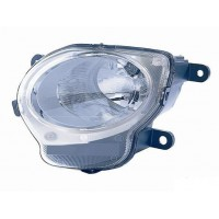 Headlight right front headlight for Fiat 500 2007 onwards lower (high beam) Lucana Headlights and Lights