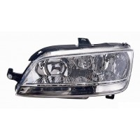 Headlight right front headlight for Fiat Idea 2003 to 2005 Fiat Multipla 2004 onwards with white fog Lucana Headlights and Li...