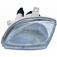 Headlight right front headlight for Fiat Seicento 1998 onwards Lucana Headlights and Lights