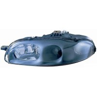 Headlight right front headlight for Fiat Marea 1996 to 2003 smooth glass Lucana Headlights and Lights