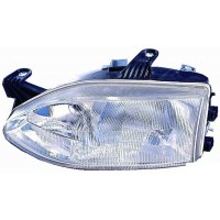 Headlight right front headlight for Fiat Palio road 1997 to 2001 H7/H3 2 dishes Lucana Headlights and Lights