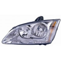 Headlight right front headlight for Ford Focus 2005 to 2007 chrome Lucana Headlights and Lights