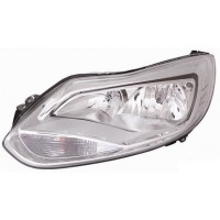 Headlight right front Ford Focus 2011 onwards chrome Lucana Headlights and Lights