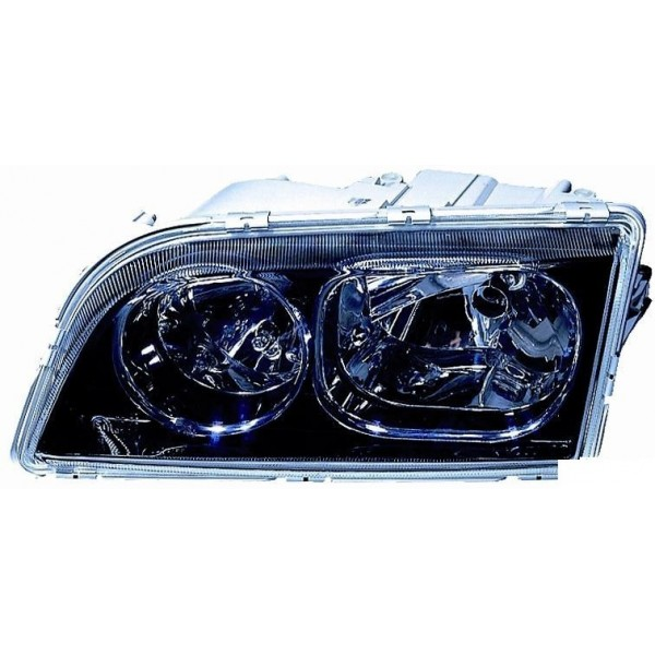 Headlight right front Volvo S40 to V40 2003 to 2004 black Aftermarket Lighting