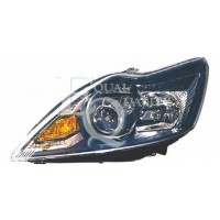 Headlight right front headlight for Ford Focus 2007 to 2010 black xenon Lucana Headlights and Lights