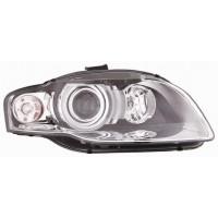 Headlight right front AUDI A4 2005 to 2007 xenon white arrow eco Lucana Headlights and Lights