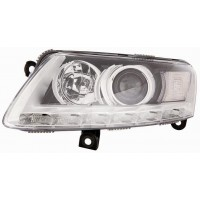 Headlight right front AUDI A6 2008 to 2010 xenon with drl led Lucana Headlights and Lights