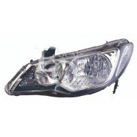 Headlight left front Honda Civic 2006 to the hybrid 4p Lucana Headlights and Lights