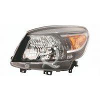 Headlight left front ford ranger 2009 onwards black Lucana Headlights and Lights