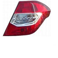 Tail light rear left Citroen C4 2010 onwards Lucana Headlights and Lights