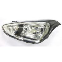 Headlight left front headlight for Hyundai i10 2013 onwards 2 black parables Lucana Headlights and Lights