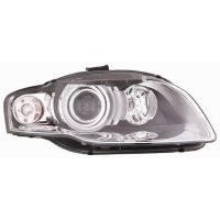Headlight left front AUDI A4 2005 to 2007 xenon white arrow eco Lucana Headlights and Lights