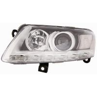 Headlight left front AUDI A6 2008 to 2010 xenon with drl led Lucana Headlights and Lights