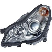 Headlight left front Mercedes CLS 2004 onwards xenon hella Headlights and Lights