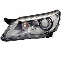 Headlight left front VW Tiguan 2007 onwards afs Xenon hella Headlights and Lights