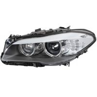 Headlight left front bmw 5 series F10 F11 2010 onwards led xenon din hella Headlights and Lights