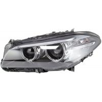 Headlight left front bmw 5 series F10 F11 2013 onwards xenon afs drl hella Headlights and Lights