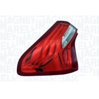 Tail light rear left Citroen DS5 2011 onwards outside black marelli Headlights and Lights