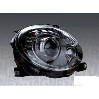 Headlight left front fiat 500 2007 onwards Xenon marelli Headlights and Lights